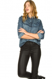 Sofie Schnoor | Jeans blouse Silke  | Picture 2