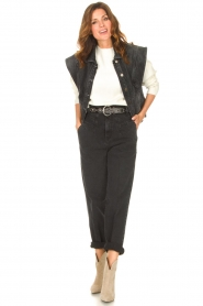 Kocca |  Baggy jeans Marlow | black  | Picture 2