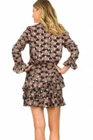 Sofie Schnoor |  Print blouse Sofie | black  | Picture 6