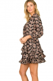 Sofie Schnoor |  Print blouse Sofie | black  | Picture 5