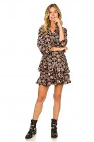 Sofie Schnoor |  Print blouse Sofie | black  | Picture 3