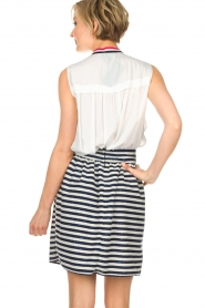 Atos Lombardini |  Skirt Gonna | blue  | Picture 6