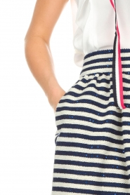 Atos Lombardini |  Skirt Gonna | blue  | Picture 4