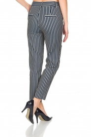 Atos Lombardini |  Striped trousers Cecilio | Blue  | Picture 5