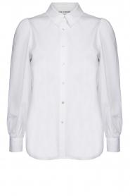 Sofie Schnoor |  Stretch blouse Nikole | white  | Picture 1