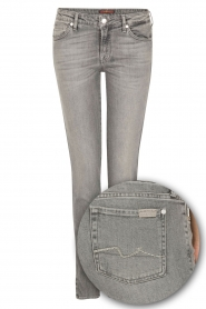 Slim fit stretch jeans Pyper | grijs