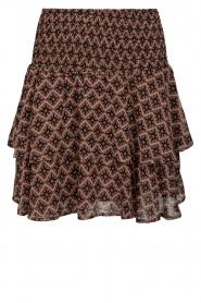 Sofie Schnoor |  Printed ruffle skirt Coraline | pink  | Picture 1