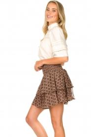 Sofie Schnoor |  Printed ruffle skirt Coraline | pink  | Picture 4