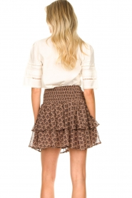 Sofie Schnoor |  Printed ruffle skirt Coraline | pink  | Picture 6