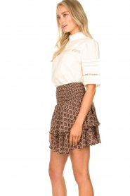 Sofie Schnoor |  Printed ruffle skirt Coraline | pink  | Picture 5