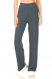 Lune Active |  Flared pants Forrest | blue  | Picture 4