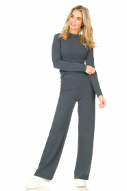 Lune Active |  Flared pants Forrest | blue  | Picture 2