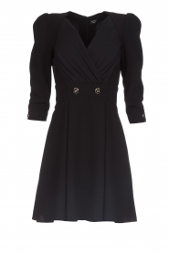 ELISABETTA FRANCHI |  Dress with button details Lena | black  | Picture 1