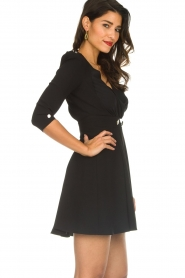 ELISABETTA FRANCHI |  Dress with button details Lena | black  | Picture 4