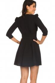 ELISABETTA FRANCHI |  Dress with button details Lena | black  | Picture 5