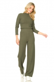 Lune Active |  Flared pants Forrest | green  | Picture 3