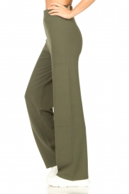 Lune Active |  Flared pants Forrest | green  | Picture 5