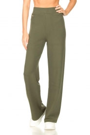 Lune Active |  Flared pants Forrest | green  | Picture 4