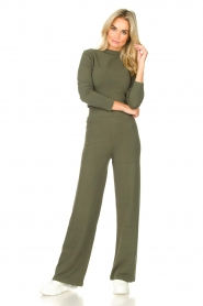 Lune Active |  Flared pants Forrest | green  | Picture 2