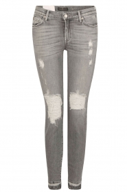 Cropped skinny jeans Unro | grijs