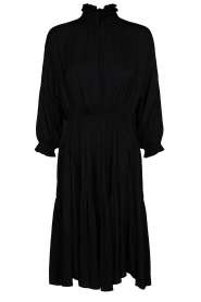 Sofie Schnoor |  Midi dress  Nelly | black  | Picture 1