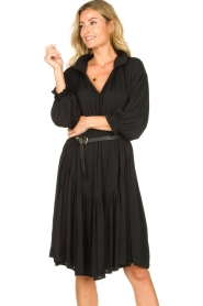 Sofie Schnoor |  Midi dress  Nelly | black  | Picture 2