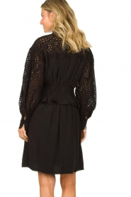 Sofie Schnoor |  Embroidery dress Larissa | black  | Picture 6