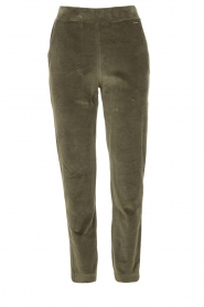 Lune Active |  Soft sweatpants Teddy | green  | Picture 1