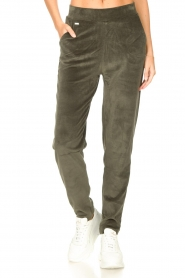 Lune Active    Soft sweatpants Teddy   green    Picture 4