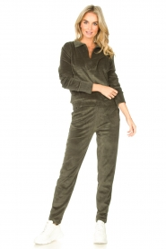 Lune Active    Soft sweatpants Teddy   green    Picture 2