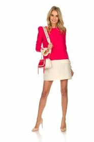 ELISABETTA FRANCHI |  Two-coloured dress Brianna | pink  | Picture 3