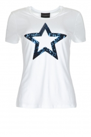 Atos Lombardini | T-shirt Bianco | Wit  | Afbeelding 1