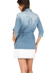 7 For All Mankind   Denim jurk Twilig   blauw    Afbeelding 5