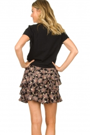 Sofie Schnoor |  Ruffle skirt Madonna | gold  | Picture 6