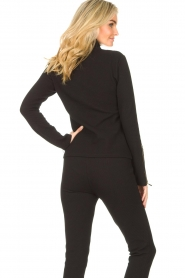 Lune Active    Ribbed turtle neck sweater Moon   black    Picture 6