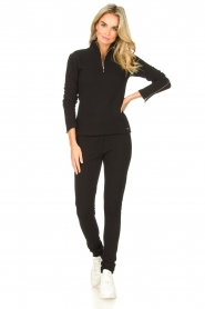 Lune Active    Ribbed turtle neck sweater Moon   black    Picture 3