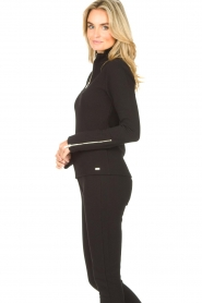Lune Active    Ribbed turtle neck sweater Moon   black    Picture 5