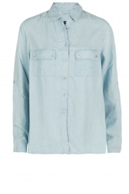 7 For All Mankind |  Blouse Uniform | blue  | Picture 1