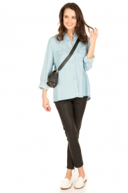 7 For All Mankind |  Blouse Uniform | blue  | Picture 3