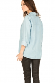 7 For All Mankind |  Blouse Uniform | blue  | Picture 5