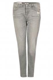 7 For All Mankind | Cropped boyfriend jeans Josefina | grijs  | Afbeelding 1
