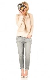 7 For All Mankind | Cropped boyfriend jeans Josefina | grijs  | Afbeelding 3
