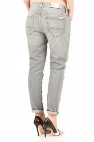 7 For All Mankind | Cropped boyfriend jeans Josefina | grijs  | Afbeelding 5