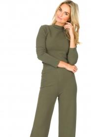 Lune Active |  Sweatshirt Forrest | green  | Picture 4