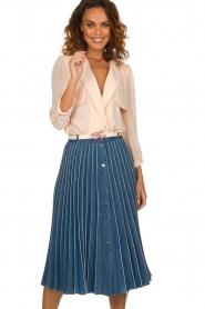 ELISABETTA FRANCHI |  Body blouse Cipria | pink  | Picture 2