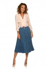 ELISABETTA FRANCHI |  Body blouse Cipria | pink  | Picture 3