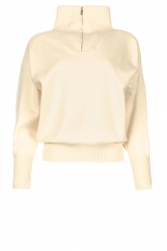 Lune Active |  Zip-up sweater Olly | natural  | Picture 1