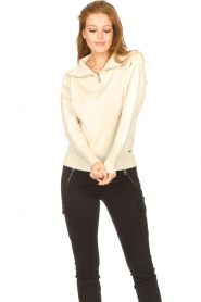 Lune Active |  Zip-up sweater Olly | natural  | Picture 5