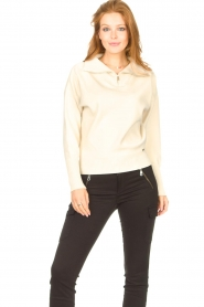 Lune Active |  Zip-up sweater Olly | natural  | Picture 2