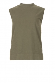 Lune Active |  Sleeveless top Senna | green  | Picture 1